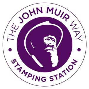 John Muir Way Stamping Station logo